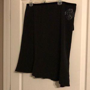 Fun and Flirty Black Skirt